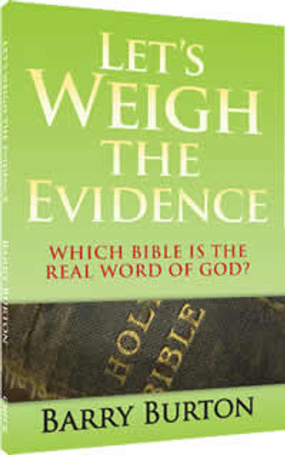Let's Weigh the Evidence