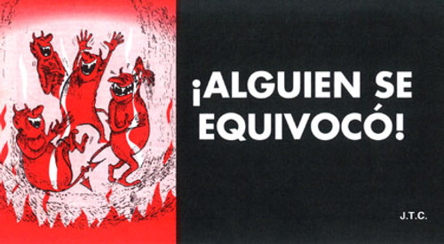 Spanish: Somebody Goofed - Tract