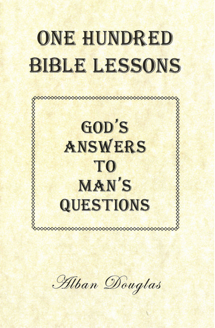 God's Answer to Man's Questions