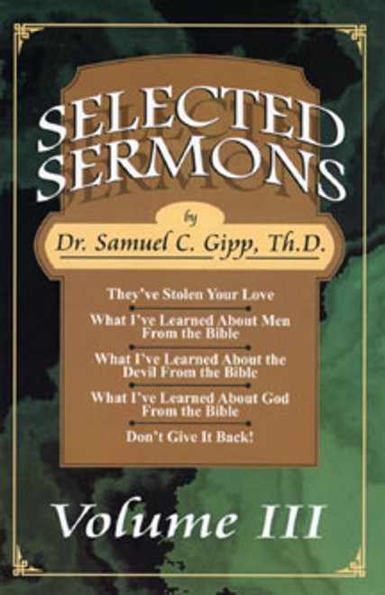 Selected Sermons, Volume 3