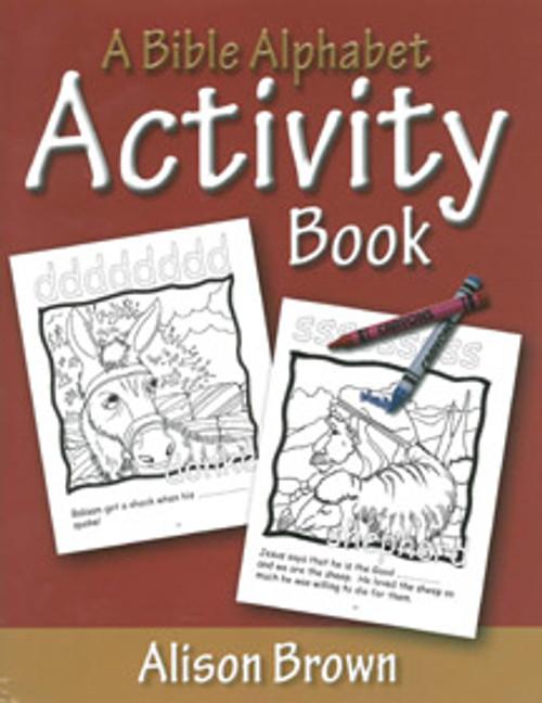 A Bible Alphabet Activity Book