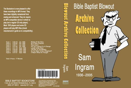 Sam Ingram: Bible Baptist Blowout Archive - MP3