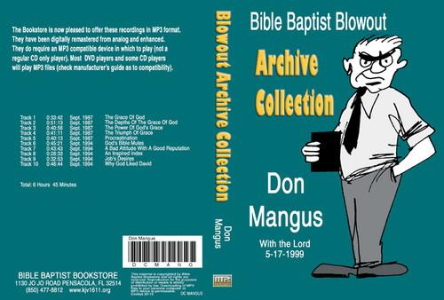 Don Mangus: Bible Baptist Blowout Archive - MP3