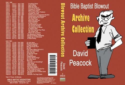 David Peacock: Bible Baptist Blowout Archive - MP3