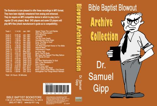 Sam Gipp: Bible Baptist Blowout Archive - MP3
