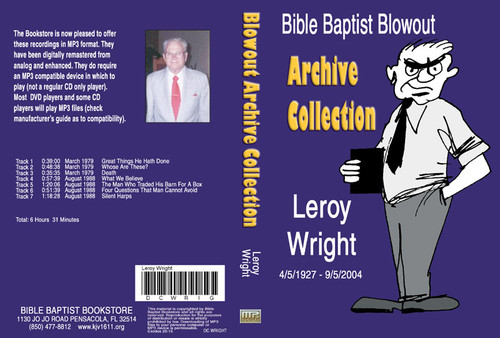 Leroy Wright: Bible Baptist Blowout Archive - MP3