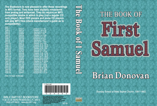 Brian Donovan: 1 Samuel - MP3