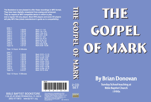 Brian Donovan: The Gospel of Mark - MP3