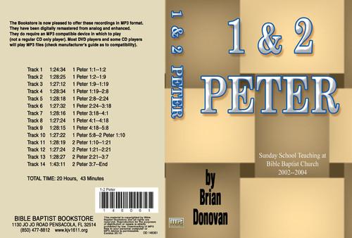 Brian Donovan: 1 & 2 Peter - MP3