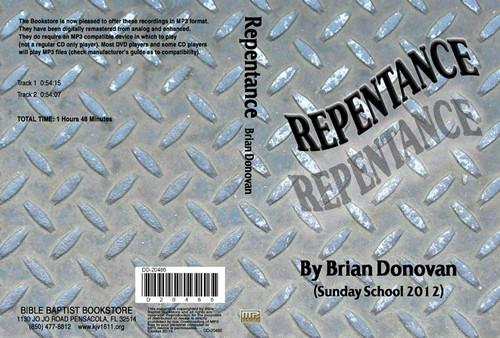 Brian Donovan: Repentance - MP3