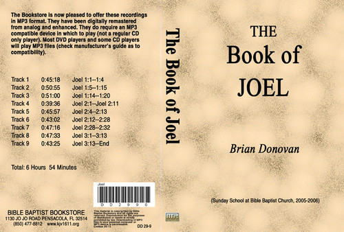 Brian Donovan: The Book of Joel - MP3