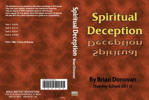 Brian Donovan: Spiritual Deception - MP3