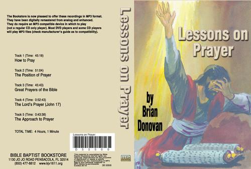 Brian Donovan: Lessons on Prayer - MP3
