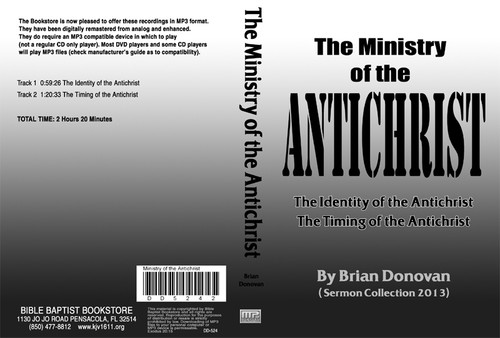 Brian Donovan: The Ministry Of The Antichrist - MP3