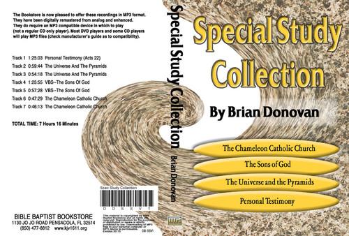 Brian Donovan: Special Study Collection Volume 1 - MP3