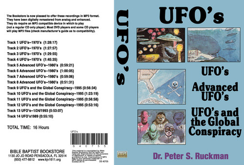 UFOs, Advanced UFOs, and UFOs and the Global Conspiracy - MP3