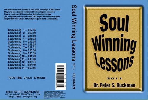 Soulwinning Lessons  2011 - MP3