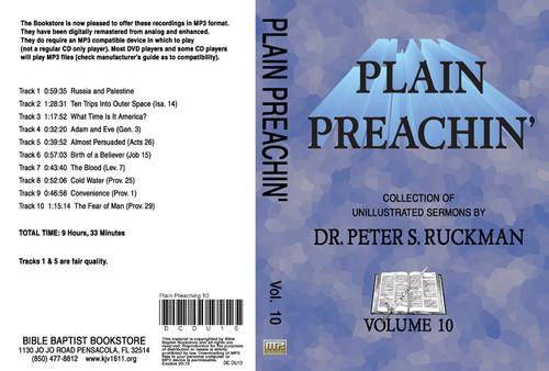 Plain Preachin' Volume 10 - MP3
