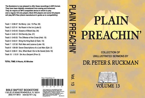Plain Preachin' Volume 13 - MP3