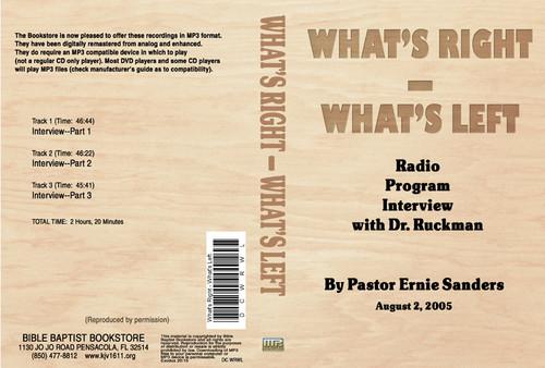WRWL Radio Interview - MP3