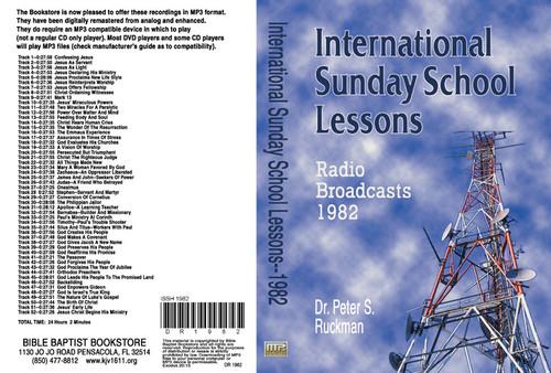 International Sunday School Lessons 1982 - MP3