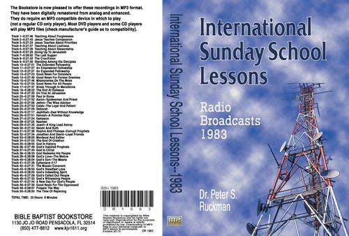 International Sunday School Lessons 1983 - MP3