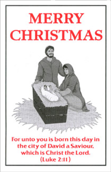 Merry Christmas - Tract