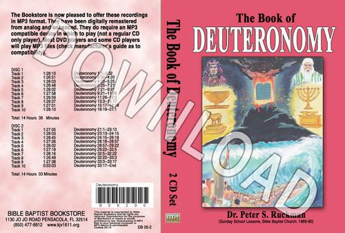Deuteronomy - Downloadable MP3