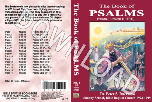 Psalms, Volume 1 - Downloadable MP3