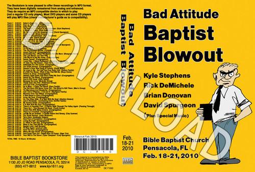 February 2010 Blowout Sermons & Music - Downloadable MP3