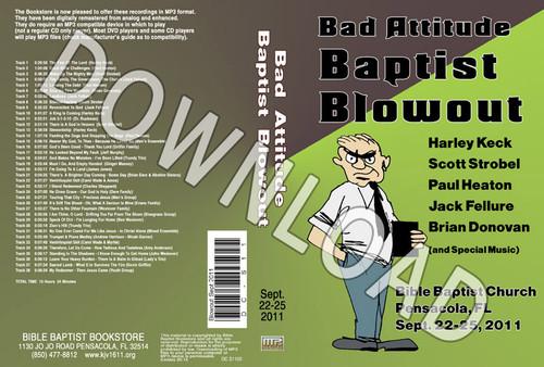 September 2011 Blowout Sermons & Music - Downloadable MP3