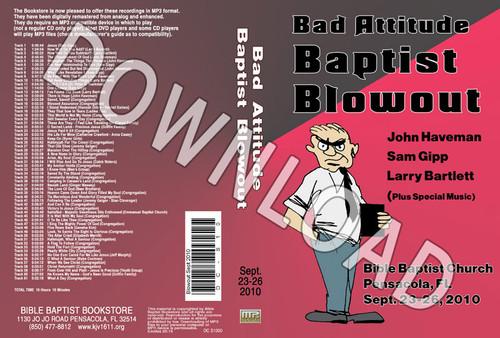 September 2010 Blowout Sermons & Music - Downloadable MP3