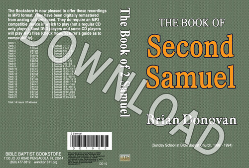 Brian Donovan: 2 Samuel (1992 - 1994) - Downloadable MP3