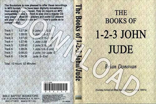 Brian Donovan: 1 John through Jude - Downloadable MP3