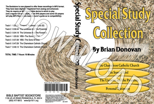 Brian Donovan: Special Study Collection Volume 1 - Downloadable MP3