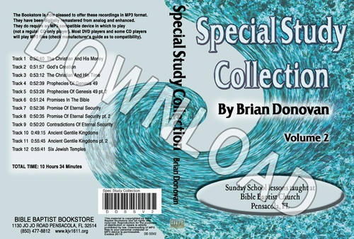 Brian Donovan: Special Study Collection Volume 2 - Downloadable MP3
