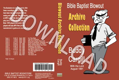 Buddy Cargill: Bible Baptist Blowout Archive - Downloadable MP3