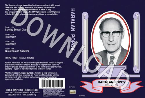 Haralan Popov: Bible Baptist Blowout Archive -  Downloadable MP3