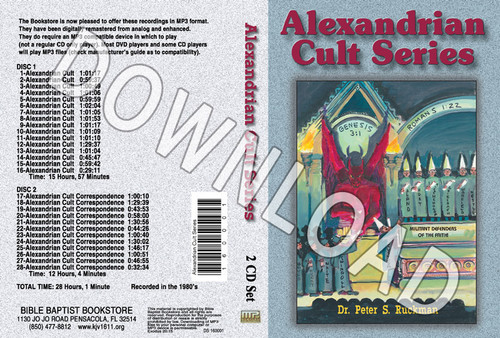 Alexandrian Cult Series - Downloadable MP3