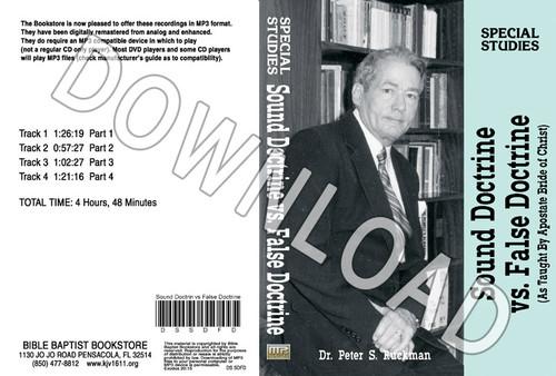 Sound Doctrine vs. False Doctrine - Downloadable MP3