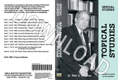 Topical Studies - Downloadable MP3