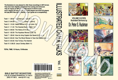 Illustrated Sermons, Volume 11 - Downloadable MP3 (audio only)
