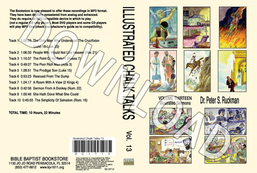 Illustrated Sermons, Volume 13 - Downloadable MP3 (audio only)