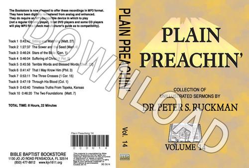 Plain Preachin' Volume 14 - Downloadable MP3