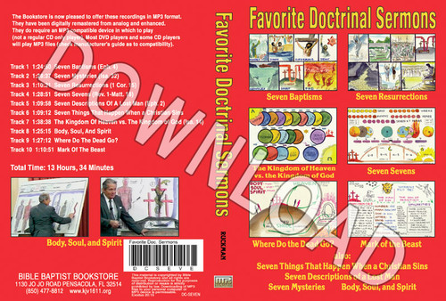 Doctrinal Sermons Collection - Downloadable MP3