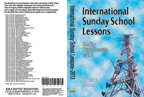 International Sunday School Lessons 2013 - MP3