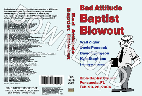 February 2006 Blowout Sermons & Music - Downloadable MP3
