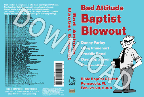 February 2008 Blowout Sermons & Music - Downloadable MP3