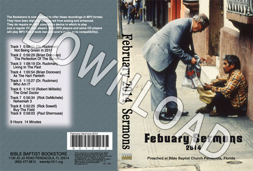 February 2014 Sermons - Downloadable MP3