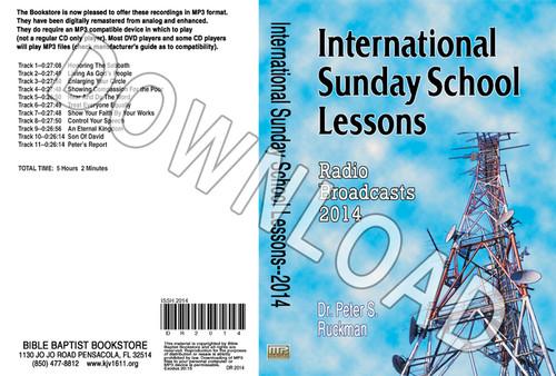 International Sunday School Lessons 2014 - Downloadable MP3